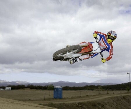 Honda CRF250R 2014 Action