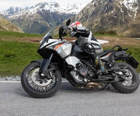 KTM 1190 Adventure Test Ischgl