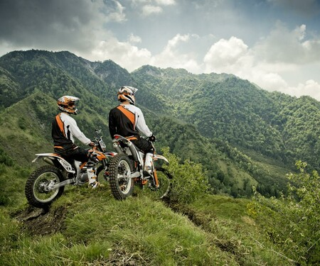 KTM Freeride 250R Action