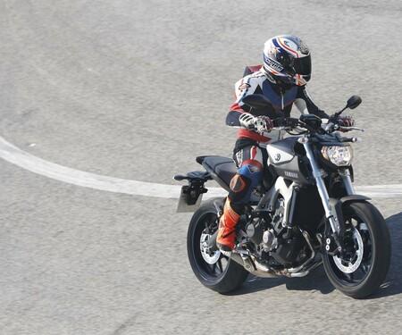 Yamaha MT-09 Actionfotos