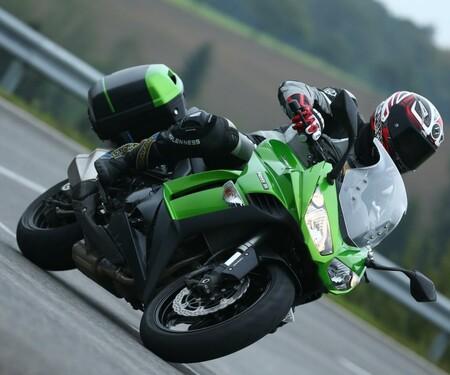 Kawasaki Z1000 SX 2014 Action
