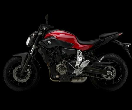 Yamaha MT-07 neu 2014