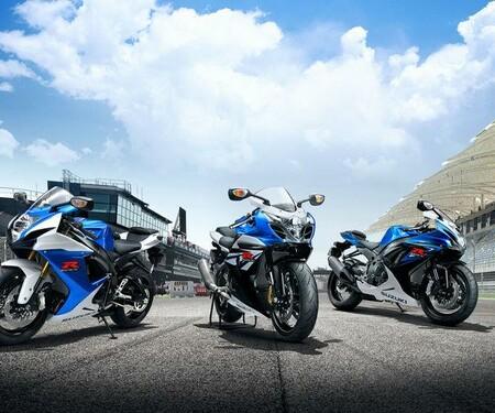 Suzuki GSX-R und GSR 2014 Farben