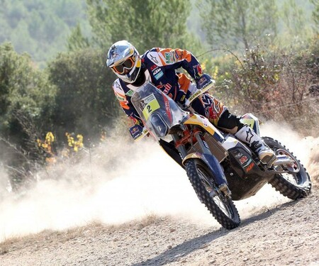 KTM 450 Rally Action