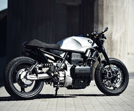 bmw k100 cafe racer umbau kosten. Black Bedroom Furniture Sets. Home Design Ideas