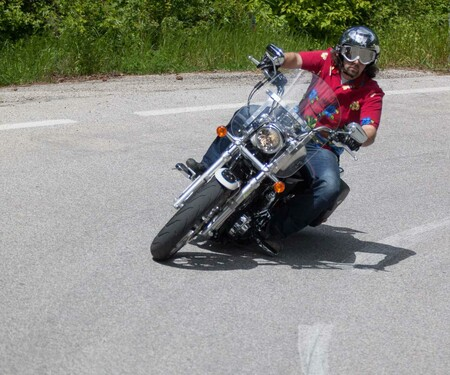 Harley-Davidson Super Low 1200T Action