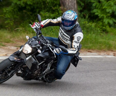 Yamaha MT-07 Test | Action