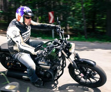 Yamaha XV950R -2014 Test