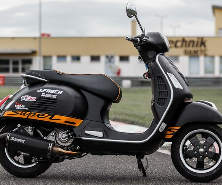 Vespa GTS 300 i.e. Super by Berger Motorsport