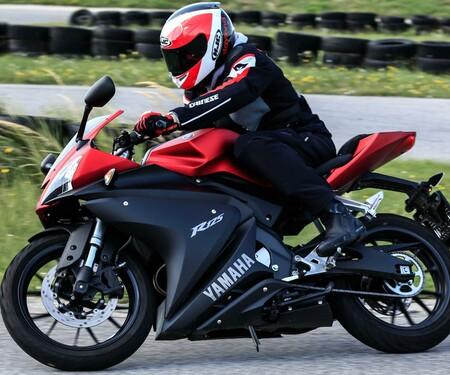 Yamaha YZF-R125 Actionfotos