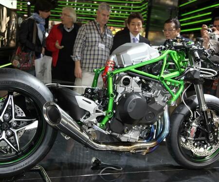 Kawasaki Ninja H2R ohne Verkleidung