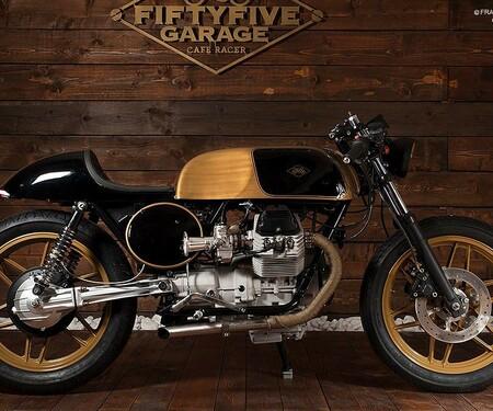 Moto Guzzi 650 SP Oro Nero von Fiftyfibe Garage
