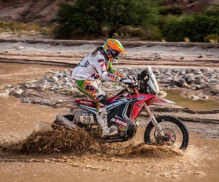 Erfolgreiches Ergebnis für das HRC Team bei der Rallye Dakar