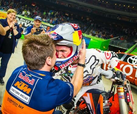Monster Energy Supercross Weltmeisterschaft 2015 in Houston