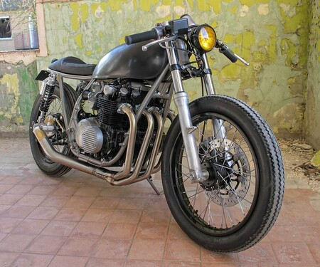 Jamie´s CB500/4 Road Burner