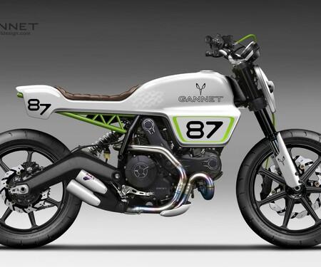 Ducati Scrambler von gannetdesign