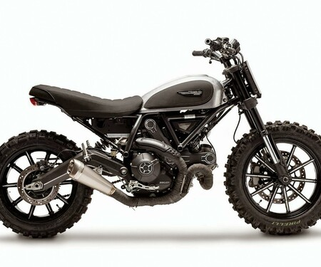 Ducati Scrambler Rocket Garage Dirt Tracker
