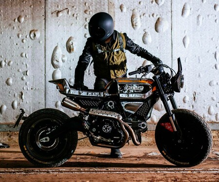 Pirelli x Vibrazioni Ducati Scrambler