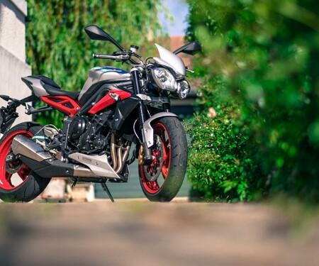 Triumph Street Triple Rx 2015 - Dauertester