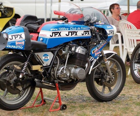 Cafe Racer Festival  am 'Autodrome de Linas-Montlhéry 2015
