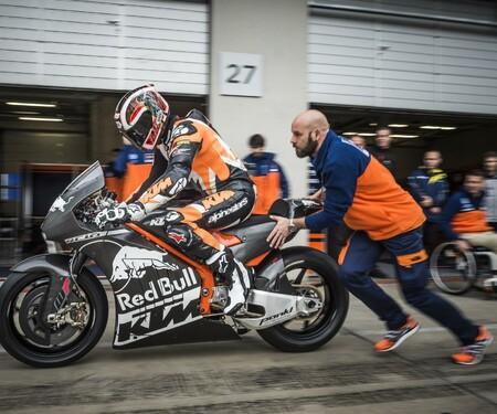 KTM RC16 MotoGP Bike Rollout