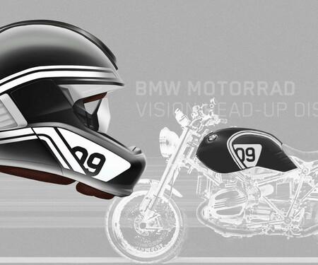 BMW Laserlicht und  Helm mit Head-Up Display 2016