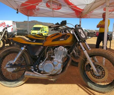 Yamaha XSR900 Launch- Dirt Track