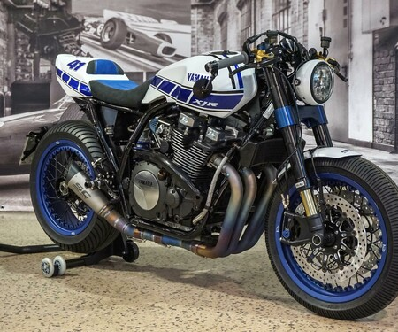 Yamaha XJR1300 Ronin Yard Built