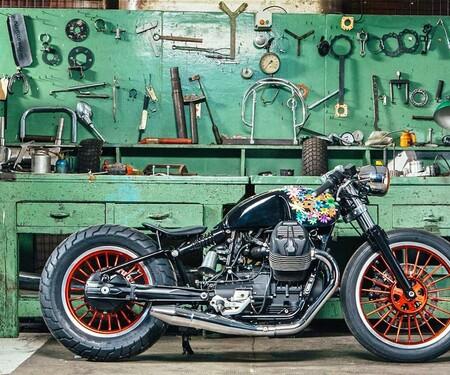 """2016 MotoGuzzi V9 """"Hope"""" by Dino Romano"""