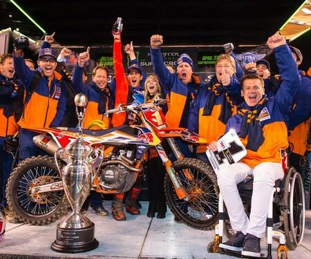 Ryan Dungey & KTM zum zweiten Mal in Folge 450 Supercross Weltmeister
