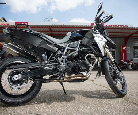 Motorrad-Quartett: BMW F800 GS