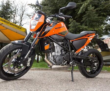 Motorrad-Quartett: KTM 690 Duke