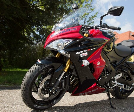 Motorrad-Quartett: Suzuki GSX-S1000F
