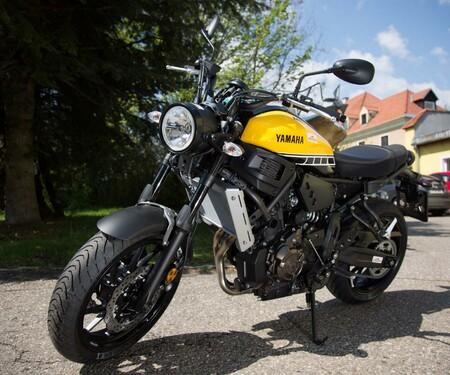 Motorrad-Quartett: Yamaha XSR700