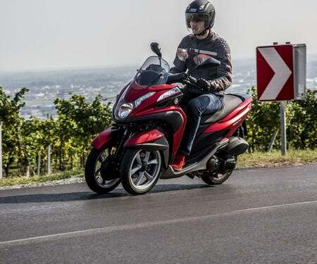 Rollervergleichstest - Yamaha Tricity