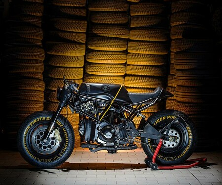 Release the Kraken - Iron Pirate Ducati 750SS