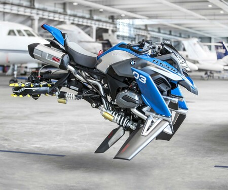 BMW Lego Technic Hover Ride