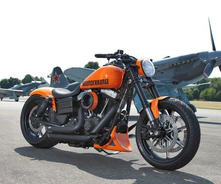 Harley Dyna Umbau von Wunderkind