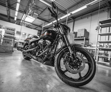 Harley Softail Umbau von Wunderkind