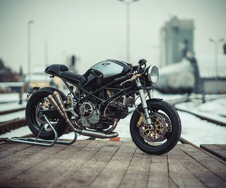Ducati Cafe Racer Umbau von NCT Motorcycles