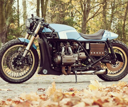 '75 Honda Gold Wing Umbau von Cardsharper Customs