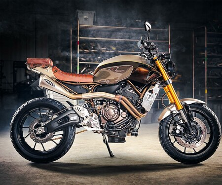 Yamaha MT-07 Umbau von Origin8or Cycles