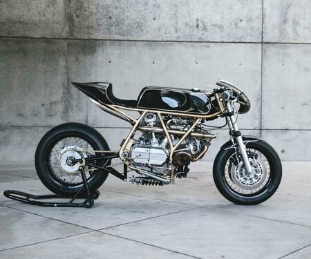 Ducati 860GT Racer Umbau von Hazan Motorwork's Turbo