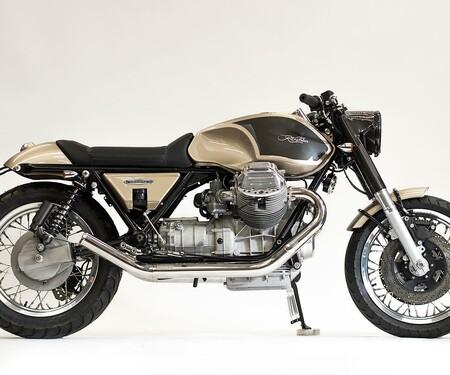 Ritmo Veloce 850 Moto Guzzi California Umbau von Officine Rossopuro