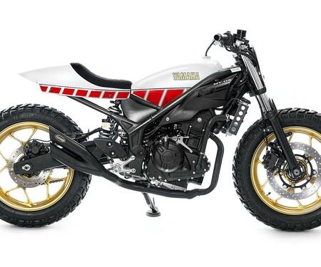 Yamaha MT-03 Umbau von Kingston Customs