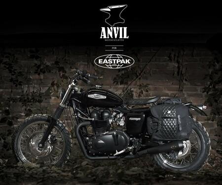 Foxtrot Triumph Bonneville von Anvil Motociclette
