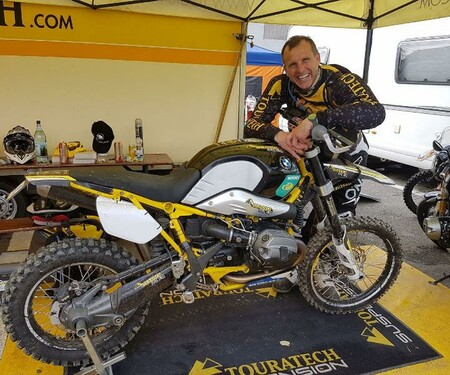 Touratech R9X bei den Red Bull Romaniacs 2017
