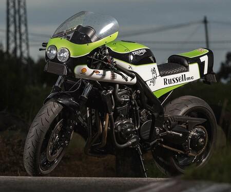 Triumph Speed Triple Umbau von Russell Motorcycles