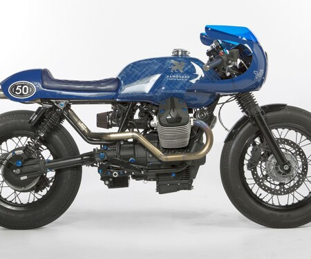 Vanguard Moto Guzzi V7 by Gannet Design