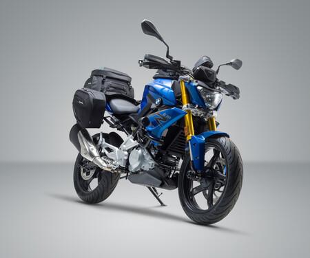 BMW G 310 R im SW-MOTECH Look